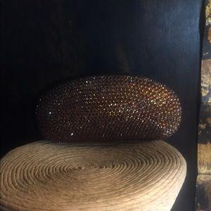 Copper Crystal Sunglass Case.